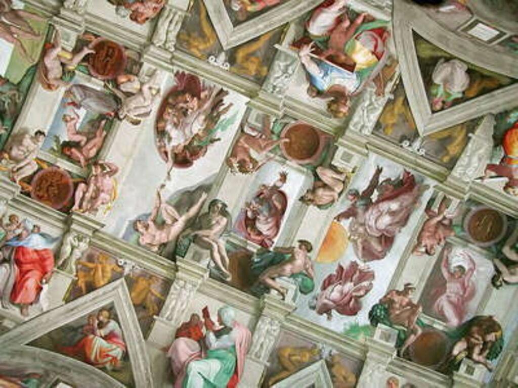 The Sistine Chapel, Sculpture And Graffiti
